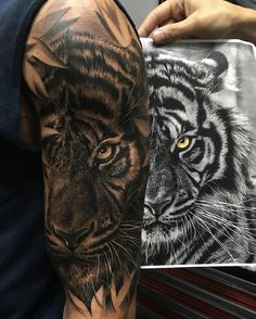 "7,530 Likes, 102 Comments - • F R E D • (@fred_tattoo) on Instagram: ""•THE TIGER• 11 Hours #Wild #Free"""