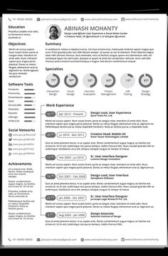 free minimalistic cvresume templates with cover letter template 17 - Simple Resume Templates Free