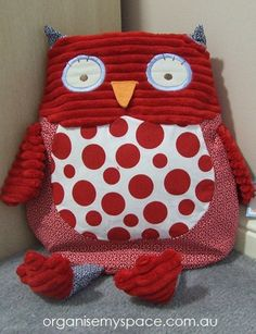 Pyjama Bag / Storage - Owl $26.99