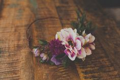 Oh So Pretty Handcrafted Asymmetrical Floral by jewelfeathers