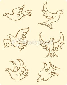 dove tattoo I want something like this but sitting down on a branch