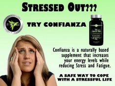 It Works Confianza Natural supplement for stress! http://claudettekeith.myitworks.com/shop/product/304/