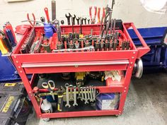 Lets see your Tool Carts/Service Carts - Page 79 - The Garage Journal Board