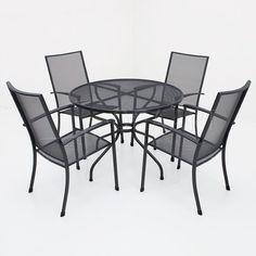 Kettler Siero stapelstoel met strekmetalen tafel - 105cm