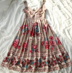 Victorian Days Silk Flora Dress by Tracy Reese for Anthropologie.  Simple and stunning.