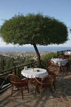 ღღ The Kybele Restaurant at Bellapais Monastery, Kyrenia, Northern Cyprus| Actually, Cyprus, not Greece