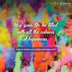 Imperia wishes you a bright and happy Holi! #HappyHoli #ImperiaStructures
