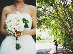 Bouquet    Sharon & Josh   Simple Tennessee Church Wedding   Snippet & Ink