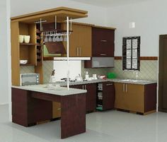 Mini Kitchen Bar Design Home Design Plan.