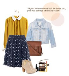 At school... with Show White by effecontus on Polyvore