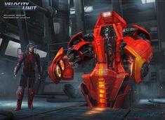 Speed-bot by adamkuczek.★ We recommend Gift Shop: http://gosstudio.com ★ #Cyberpunk #Art #gosstudio