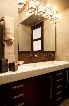 Bathroom Remodeling Photos: Inspirational Bathroom Remodeling Photos:  Robin Baron Design