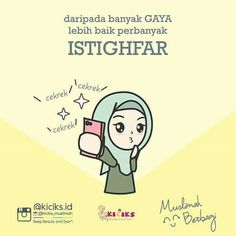Muslim Quotes, Islamic Quotes, Cute Muslim Couples, Learn Islam, Self Reminder, Quotes Indonesia, Islamic Pictures, Cartoon Kids, Doa