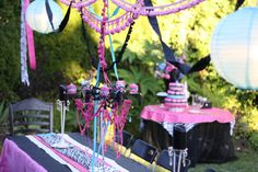 girl birthday party -