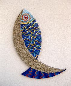 Mosaic fish..like this style