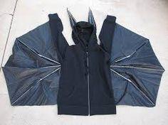 Umbrella for wings Bat Costume