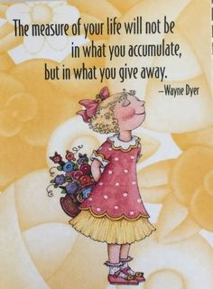 The Measure Of Your Life-Mary Engelbreit Artwork Magnet