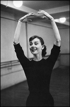 Audrey Hepburn | In preparation for Funny Face in which she … | Flickr
