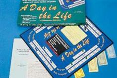 """a day in the life"" board game"