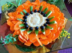 Catering Display Ideas | Veggie/Fruit Tray Display Ideas