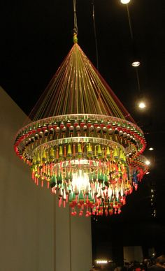 Fishing Tackle Chandelier