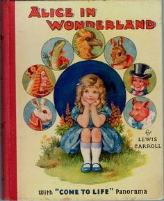 Alice in Wonderland. Year: #1930. Country: UK. Illustrations: A L Bowley. Additional Info: Tuck printed edition