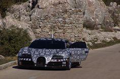 Bugatti Chiron foto spia -3