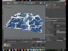 Создание океана в Cinema 4D с помощью плагина HOT- 4D - YouTube