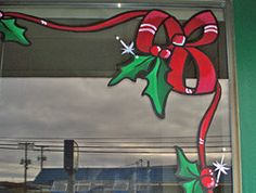 window paint thanksgiving christmas storefront - Google Search ...