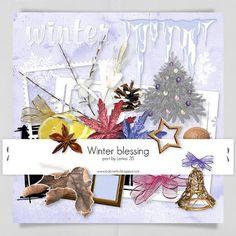 Winter Blessing Elements by Lenka-35 Megakit Part