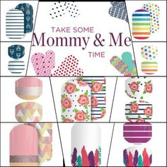 "How cute are these ""Mommy and me"" matching wraps?! It would be adorable to match on Mothers day! Check out all the matching wraps in the mommy and me category on my website: jessicadewan.jamberry.com"