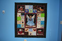 I made this Angel quilt for a special girl that is no longer with us.