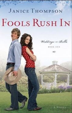 Awesome book... funny... reminds me of the movie My big fat greek wedding.  Google Image Result for http://thefrugalgirls.com/wp-content/uploads/2011/01/Free-Amazon-Kindle-Books-Fools-Rush-In-Janice-Thompson.jpg