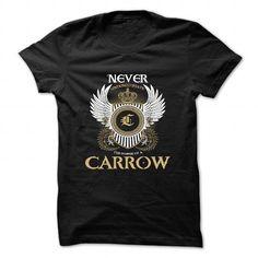 CARROW - #long sleeve shirt #silk shirts. LIMITED TIME => https://www.sunfrog.com/Camping/CARROW-85535344-Guys.html?id=60505