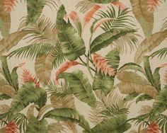 La Selva Palm Fabric by the Yard