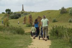 Ham Hill Country Park, perfect for young families. For full details see southsomersetcountryside.com/ham-hill-country-park.aspx for full details