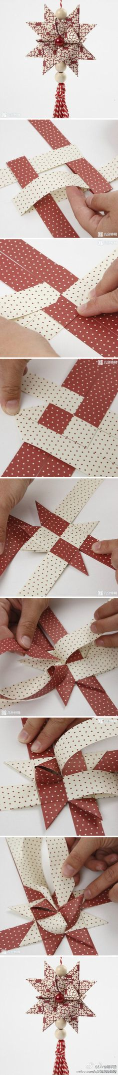 Photo tutorial: Origami Star
