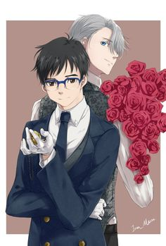 Yuri!!! on  ICE Viktor and Yuri