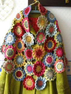 Motiivid jääkide hävitamiseks /  crochet motif