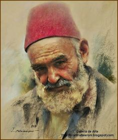 By Javad+Soleimanpour who is from Istanbul, Turkey. Just lovely! Soft Pastel Art, Pastel Drawing, Painting & Drawing, Pastel Portraits, Watercolor Portraits, Pinturas Color Pastel, Monet, Iranian Art, Painting People