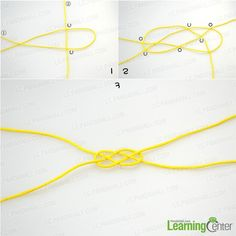 Make the decorative Carrick Bend