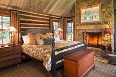 Decorating Ideas 22 Inspiring Rustic Bedroom Styles For This Winter