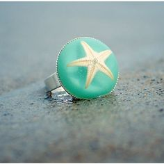 Starfish Ring....heart and soul lives in the ocean:)