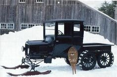◆Ford Model T Snowmobile◆: