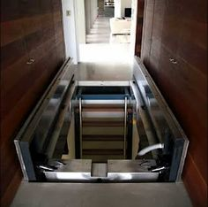 Secret Passage way: this one looks fairly elaborate with the floor opened by hydraulics