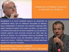 Politique - Nomination de Bernard Cazeneuve au Ministère de l'Intérieur - http://pouvoirpolitique.com/nomination-de-bernard-cazeneuve-au-ministere-de-linterieur/