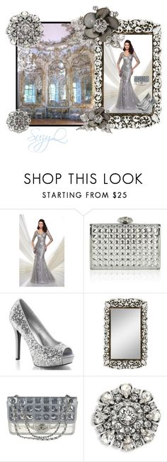 """Hall of Mirrors Prom"" by suzettestokes ❤ liked on Polyvore featuring Mon Cheri, Judith Leiber, NYMPHENBURG, Chanel, Marc Jacobs and Christian Dior"
