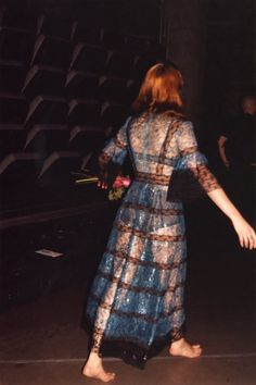 Florence at the backstage of How Beautiful Tour #HowBeautifulTour