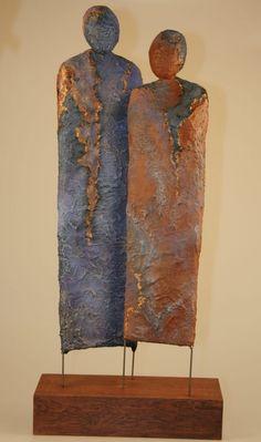 Hottest Free of Charge Ceramics sculpture abstract Tips Galerie Josefine-Art Ceramic Sculpture Figurative, Metal Art Sculpture, Pottery Sculpture, Abstract Sculpture, Pottery Art, Abstract Art, Ceramic Figures, Ceramic Art, Sculptures Céramiques