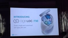 Dr. Joe Chang introducing ageLOC YOUTH, ageLOC ME & EPOCH ESSENTIAL OILS